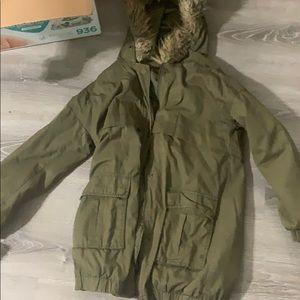 Hunter green jacket